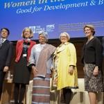 """""""Empowering women is smart economics"""""""
