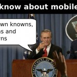 What Are the Knowns and Unknown in m-Education?