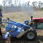 Two-wheel (single axle) tractors introduced to power agriculture in the highlands of Ethiopia