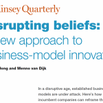 Business Model innovation – what if all our beliefs were overturned?