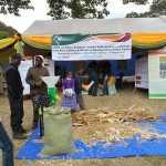 Africa RISING showcases interventions at Nane Nane agricultural fair in Arusha