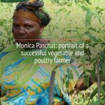 Monica Paschal: portrait of a successful vegetable and poultry farmer
